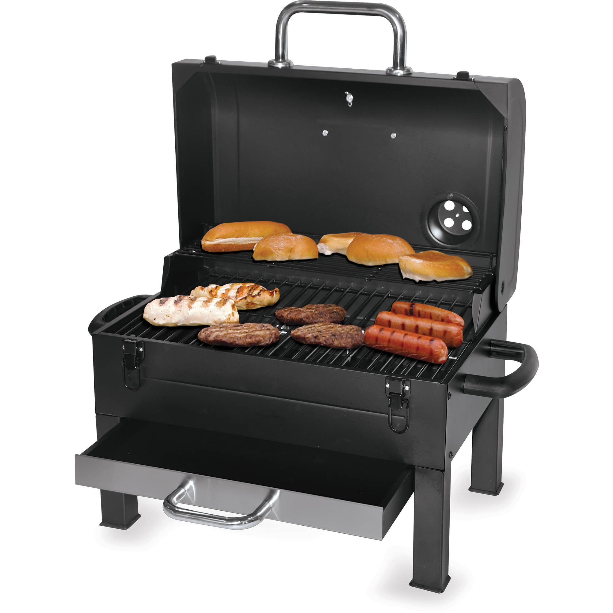 Kingsford 325 Sq In Portable Charcoal Grill, Black   Walmart.com