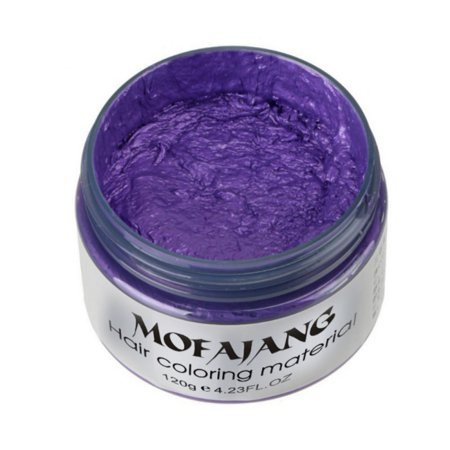 Unisex Styling Products Hair Color Wax Dye Natural One-time Molding Paste Seven Colors Hair Dye Wax Washable Temporary,Party Cosplay