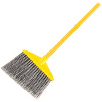 Rubbermaid Commercial Angle Broom, Gray, 1 Each (Quantity)