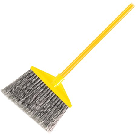 Rubbermaid Commercial, RCP637500GY, Angle Broom, 1 Each, Gray