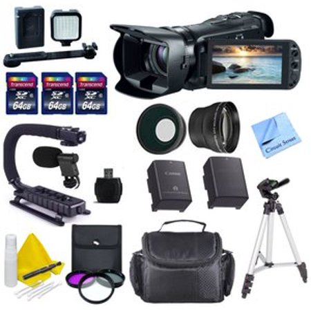 Canon VIXIA HF G20 Black Digital Camcorder with 3.5