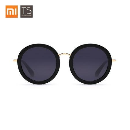 TS Luxury Brand Vintage Optical Sun Glass Women Round Eye Nylon Sunglasses Fashion Retro Shiny Frame Shades Ladies Eyewear Oculos (Sunglass Hut Optical Frames)