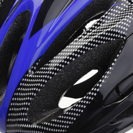 Safety Helmet Adjustable Bicycle Bike Helmet Cycling Road Carbon Visor Mountain for Adult Mens Women outdoorgood Boys Unisex - image 8 of 9