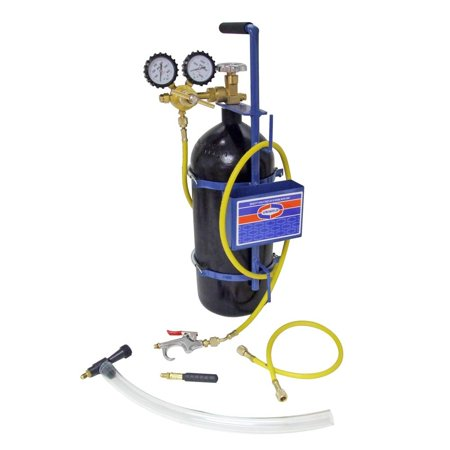 Uniweld Metal (Uniweld 40040 Nitrogen Sludge Sucker and Blaster Kit with Metal Carrying Stand for 40 Cubic Feet Nitrogen)