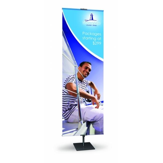 Testrite 12 in. Classic Banner Stand