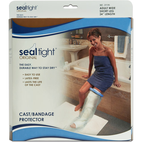 Seal-Tight Cast and Wound Protector - Wide Adult Short Leg
