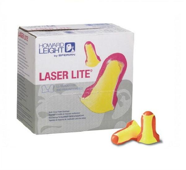 Laser-Lite Multi-Color Foam Ear Plug W/O Cord
