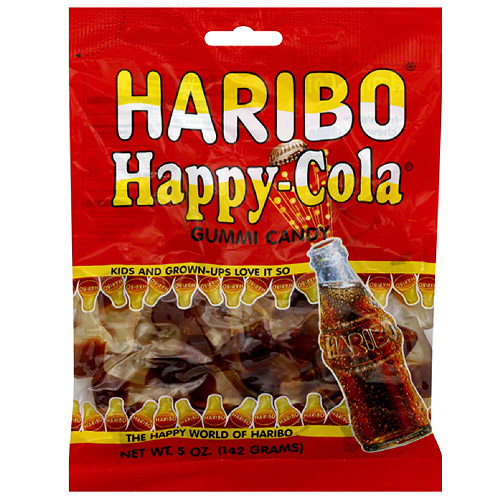 HARIBO Happy Cola Gummi Candy, 5 oz, (Pack of 12)