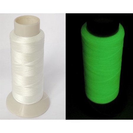 1100yd Spool (Glow in the Dark Thread Sewing Embroidery Thread 1000m ~ 1100yd Spool )