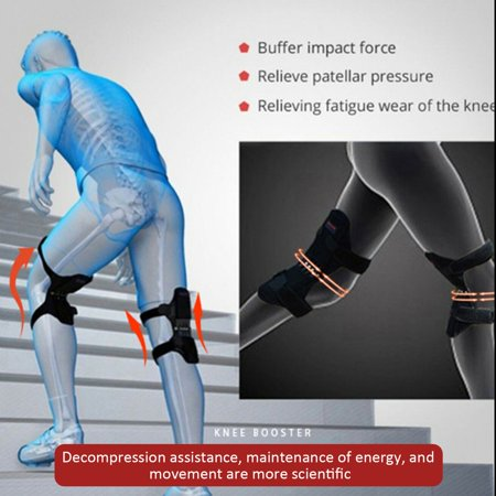 Knee Brace with Side Stabilizers & Patella Gel Pads for Knee Support - image 2 de 7