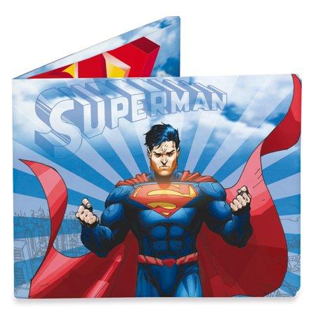 Tyvek Superman In Flight Mighty Wallet - Unique Cool & Fun Designs