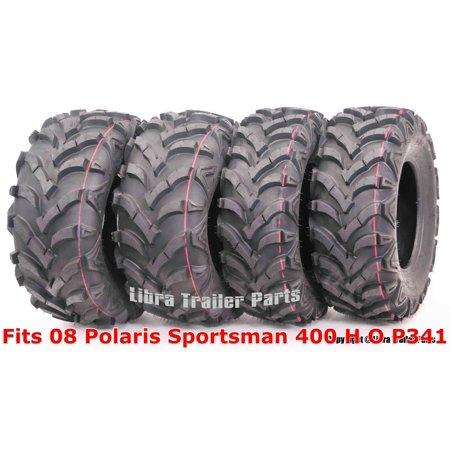Set 4 WANDA ATV tires 24x8-12 & 24x11-10 For 08 Polaris Sportsman 400 H O P341