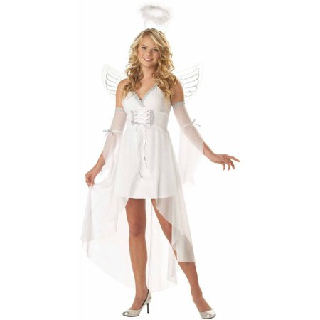Heaven's Angel Women's Adult Halloween Costume](Angel Devil Costumes Halloween)