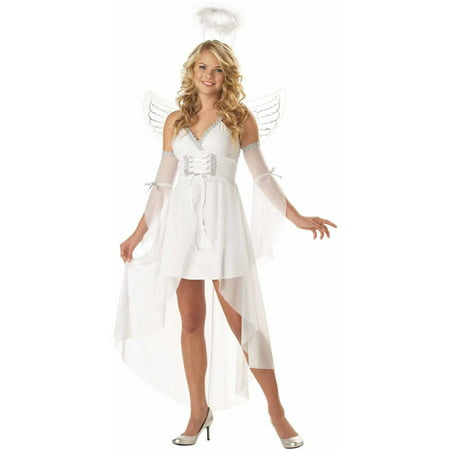 Heaven's Angel Women's Adult Halloween Costume - Cheap Easy Costumes