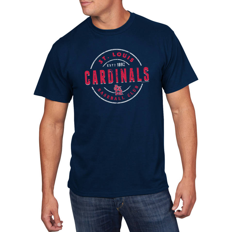 MLB - Mens St.Louis Cardinals Short Sleeve Team Tee