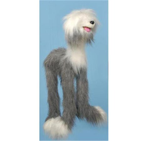 Sunny Toys WB933 38 In. Four-Leg Sheepdog, Large Marionette
