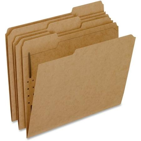 Pendaflex, PFXFK211, Kraft Letter Size Fastener Folders, 50 / Box, Kraft