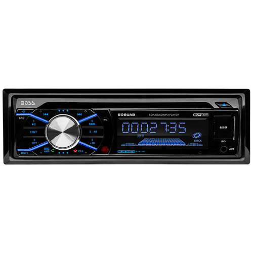 Boss Audio 508UAB In-Dash CD/MP3 Player Receiver with Built-In Bluetooth