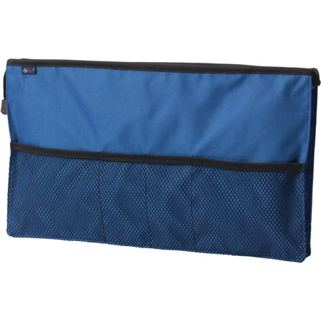 Drive Medical Agewise Walker Rollator Front Organizer With Mesh  Blue