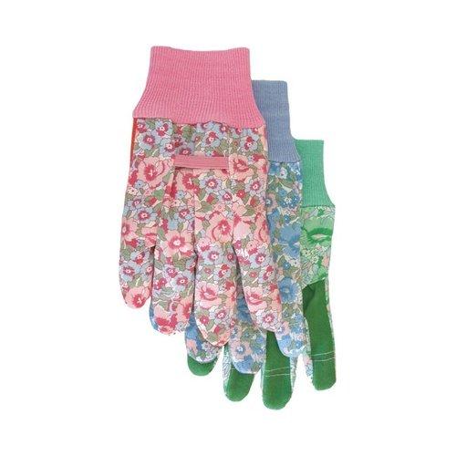 Boss 731 Ladies Cotton Vinyl Palm Gloves - Assorted