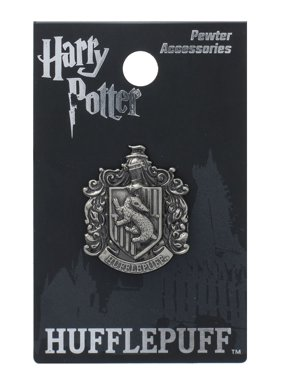 5f70f8720 Product Image Harry Potter Hufflepuff School Crest Pewter Lapel Pin