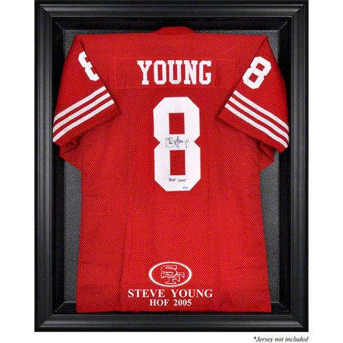 NFL - Steve Young San Francisco 49ers Hall of Fame 2005 Framed Logo Jersey Display Case