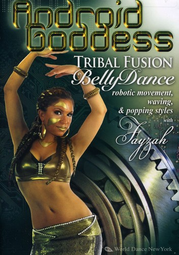 Android Goddess: Tribal Fusion Bellydance and Robotic Movement by Stratostream
