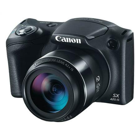 20.0-Megapixel PowerShot SX420 IS Digital Camera in Black