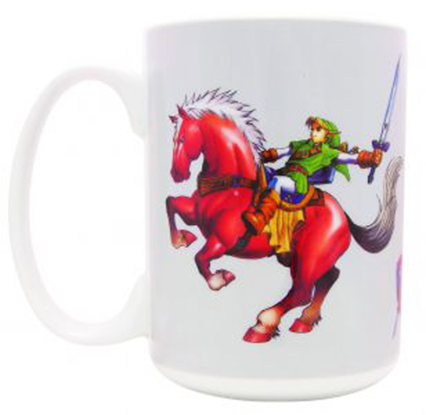 Legend of Zelda Ocarina of Time: Link on Epona Mug
