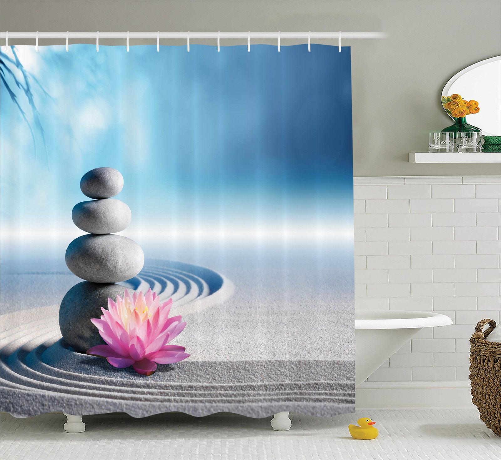 Spa Decor Stones And Lotus Flower Over Sand Meditation Harmony ...