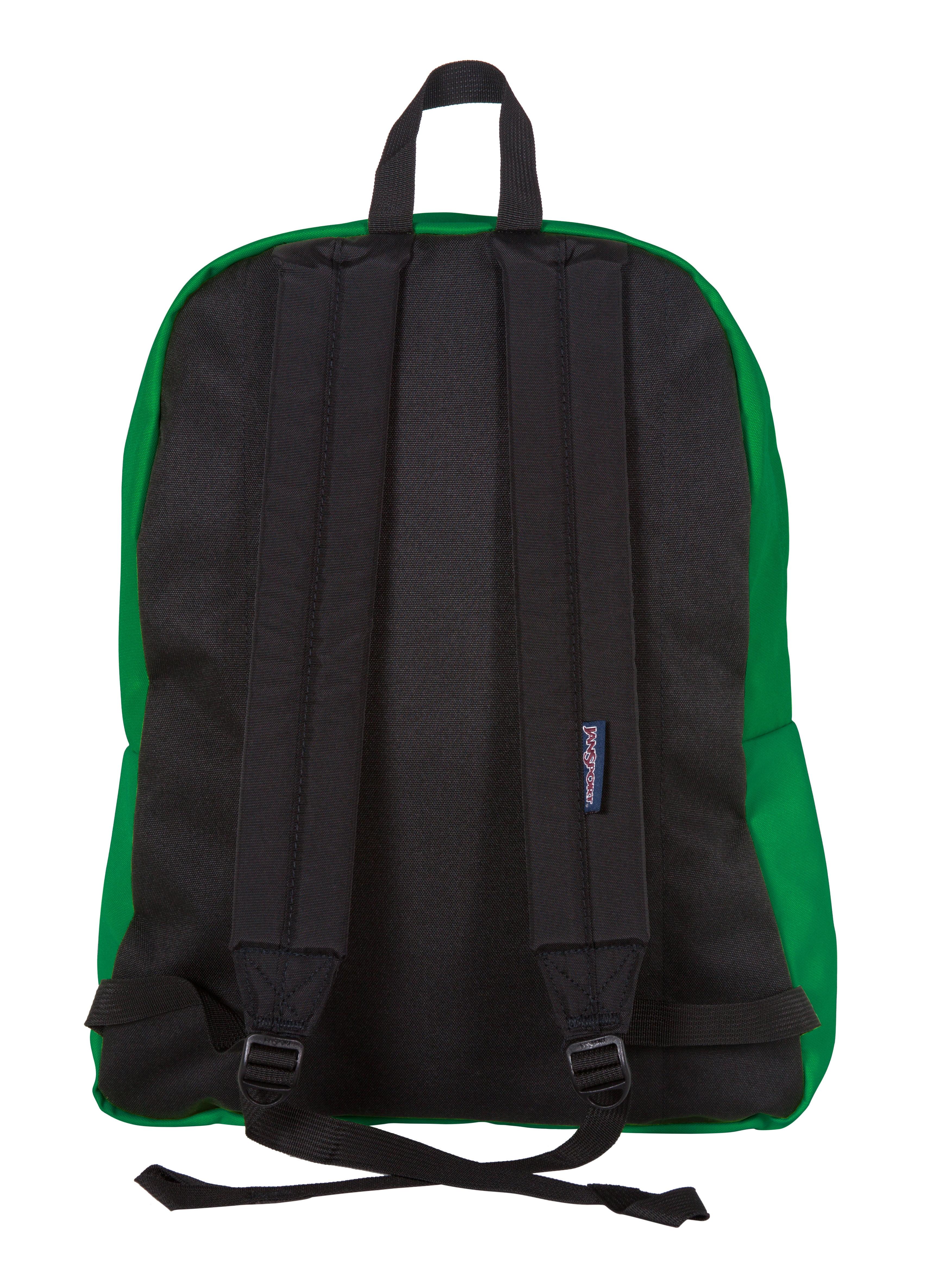 Jansport Superbreak Backpack Amazon Green - Walmart.com b47f9f8fcd381