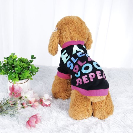 Dog T Shirt Puppy Small Pet Sweatshirt Tops Clothes Apparel Vest Clothing #3 XS - image 6 of 7