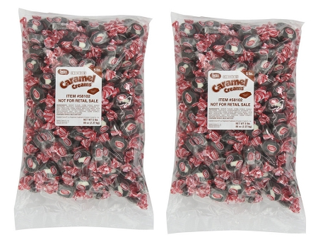 Goetze Original Chocolate Caramel Creams, 5 lbs
