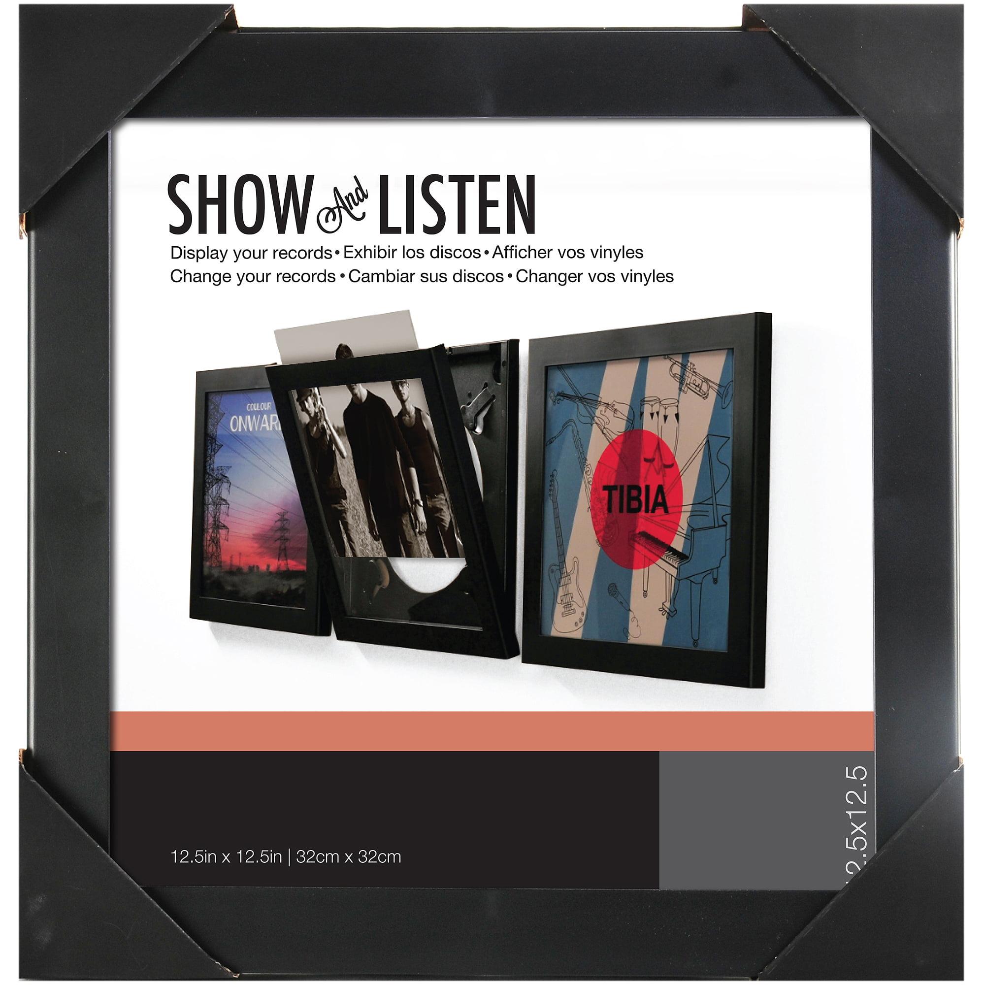 show & listen 12.5\'\' x 12.5\'\' record frame - Walmart.com