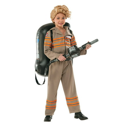 Ghostbusters Movie: Ghostbuster Female Deluxe Child Halloween Costume](Funny Female Halloween Ideas)