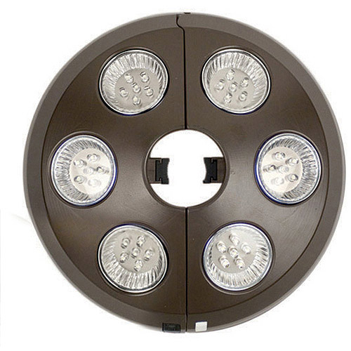 Blue Wave 6-Light Rechargeable LED Umbrella Light