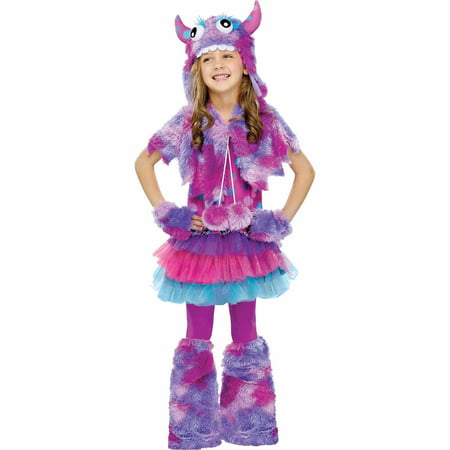Polka Dot Monster Child Halloween Costume](Sulley Monsters Inc Halloween Costume)