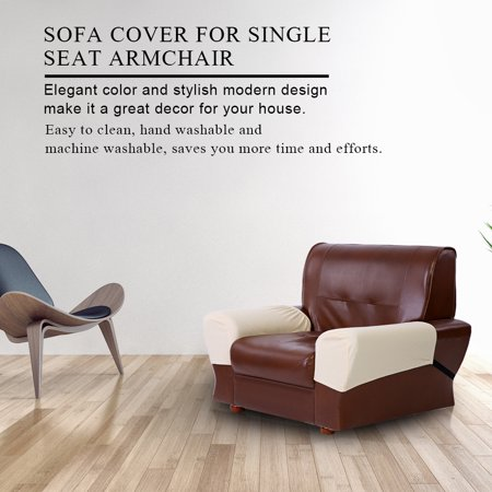 Knifun  Waterproof Sofa Cover, Sofa Cover for Single Seat Armchair,2PCS Sofa Protector Waterproof Cover for Armrest Chair Armchair Single Seat Recliner Furniture ()