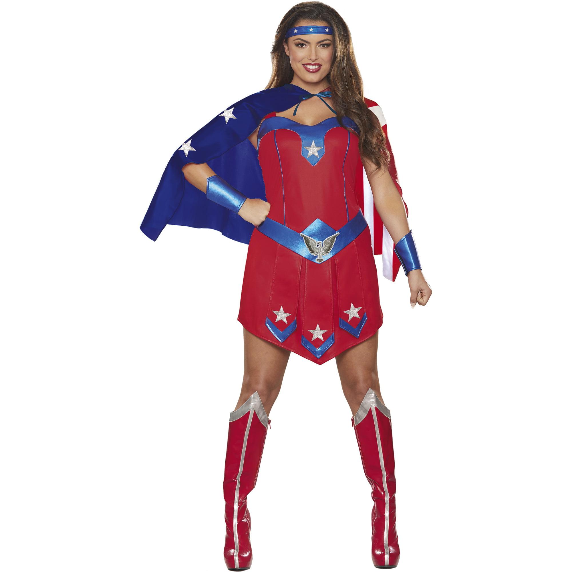 Women's Super Hero Halloween Costume