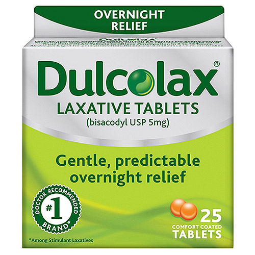 Dulcolax Laxative Tablets, 25 count