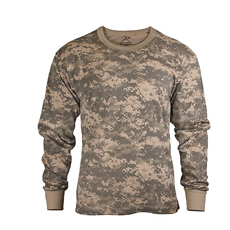 28a01da4 Rothco Kids Long Sleeve Camo T-shirt - Pink Camo, Medium - image 1 ...