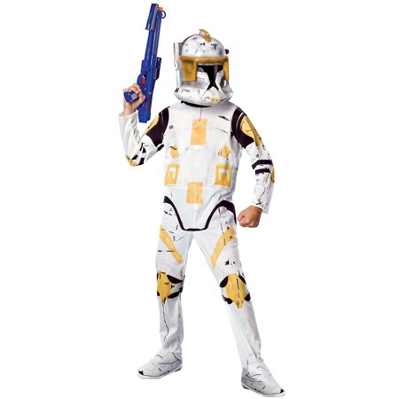 Child Clone Trooper Commander Cody Costume Rubies 883206 for $<!---->