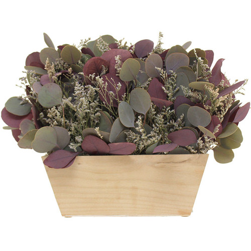 FLORAL Treasure Eucalyptus Floral Arrangement in Garden Box
