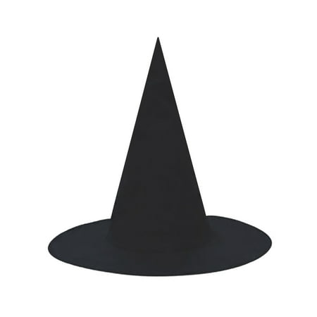 SeasonsTrading Child Black Witch Hat - Halloween Costume Dress - Black Witch Halloween