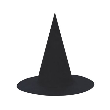 SeasonsTrading Child Black Witch Hat - Halloween Costume Dress Up (Witch Hat Costume)