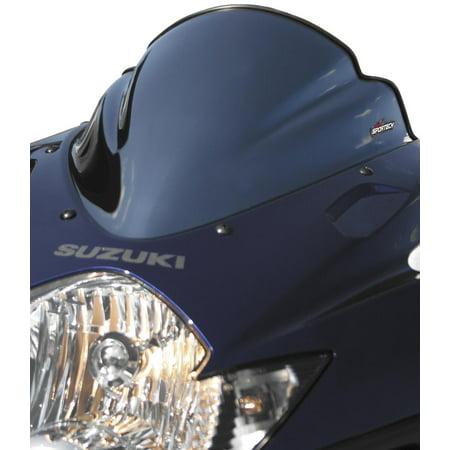 Sportech 45501165 V-Flow Chrome Series Windscreen - Black -