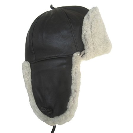 Klondike Youth Lambskin Shearling Aviator (Large) (Ugg Shearling Hat)