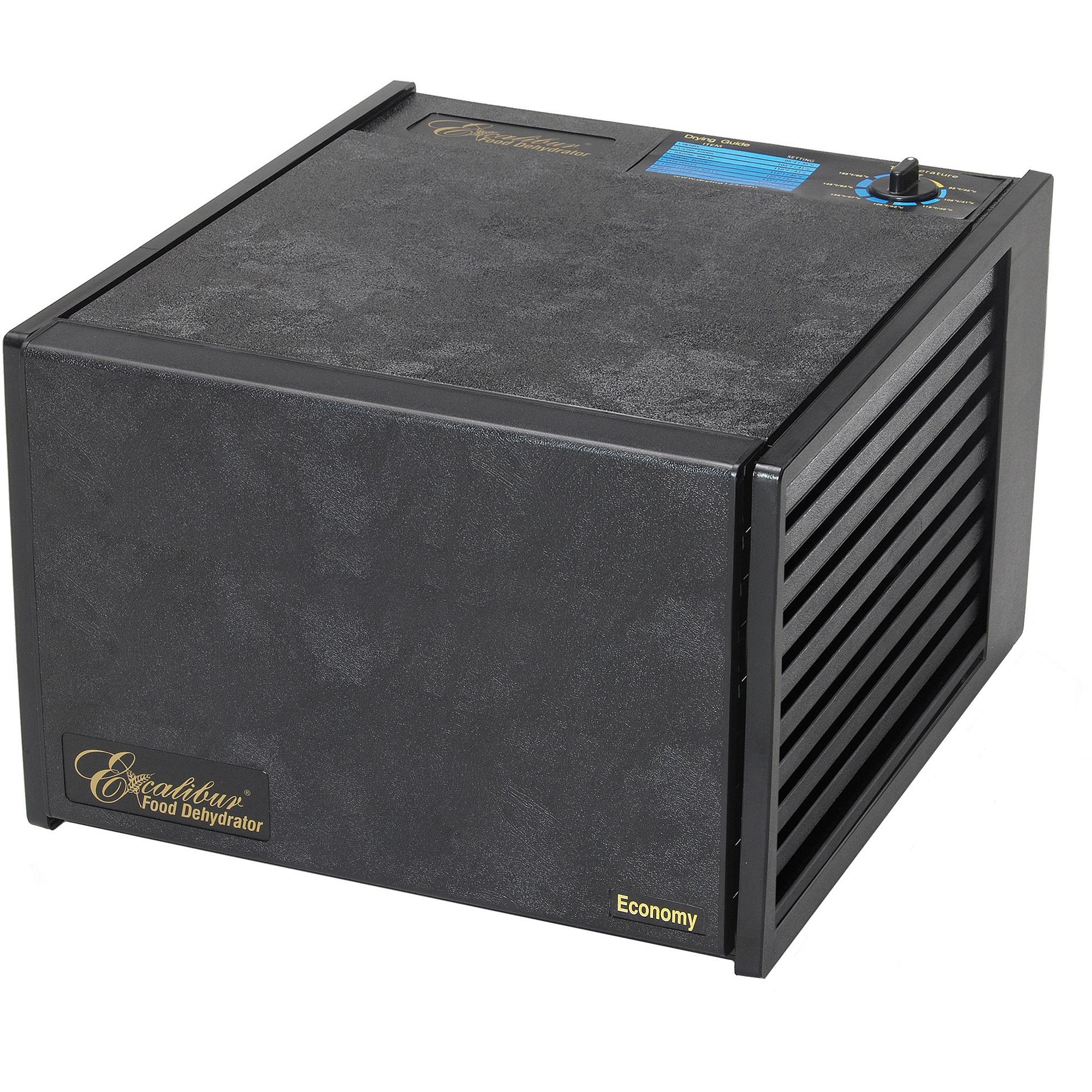 Excalibur 9-Tray Dehydrator, Black