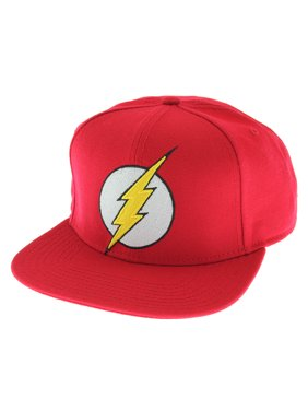 b19a8b17b07 Product Image DC Comics The Flash Licensed Embroidered Logo Snapback Cap Hat