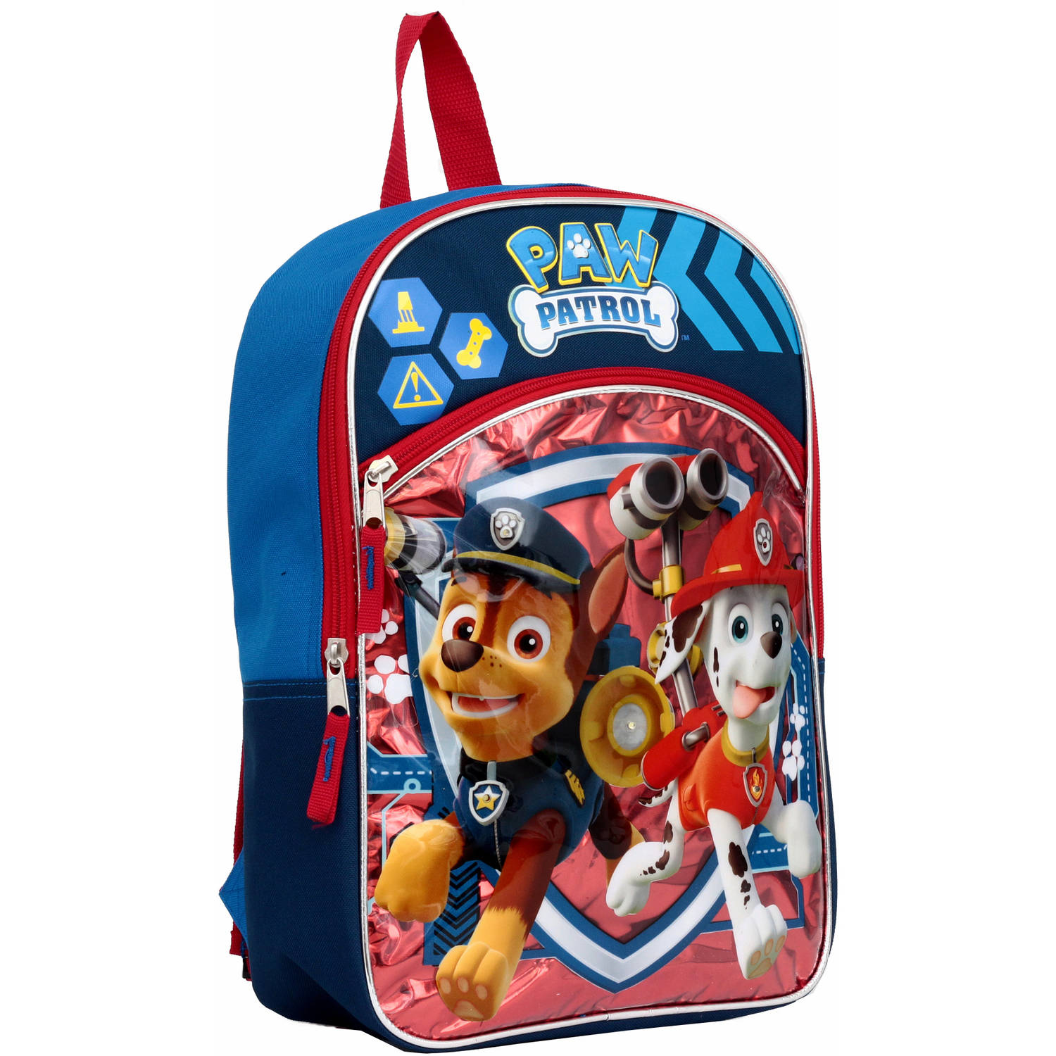 "Paw Patrol Chase and Marshall Light up 14"" Backpack"